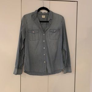 J Crew Light Chambray shirt